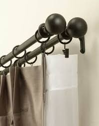Blockaide Double Curtain Rod by Nice Double Curtain Rod For The Home Pinterest Double