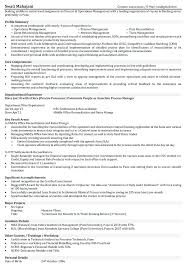 Download Operations Resume Samples Banking Sample For Freshers In Sector