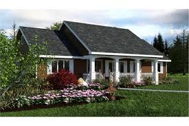 3 Bedroom Ranch Floor Plans Colors Country Ranch House Plan U2013 Three Bedrooms Plan 176 1012