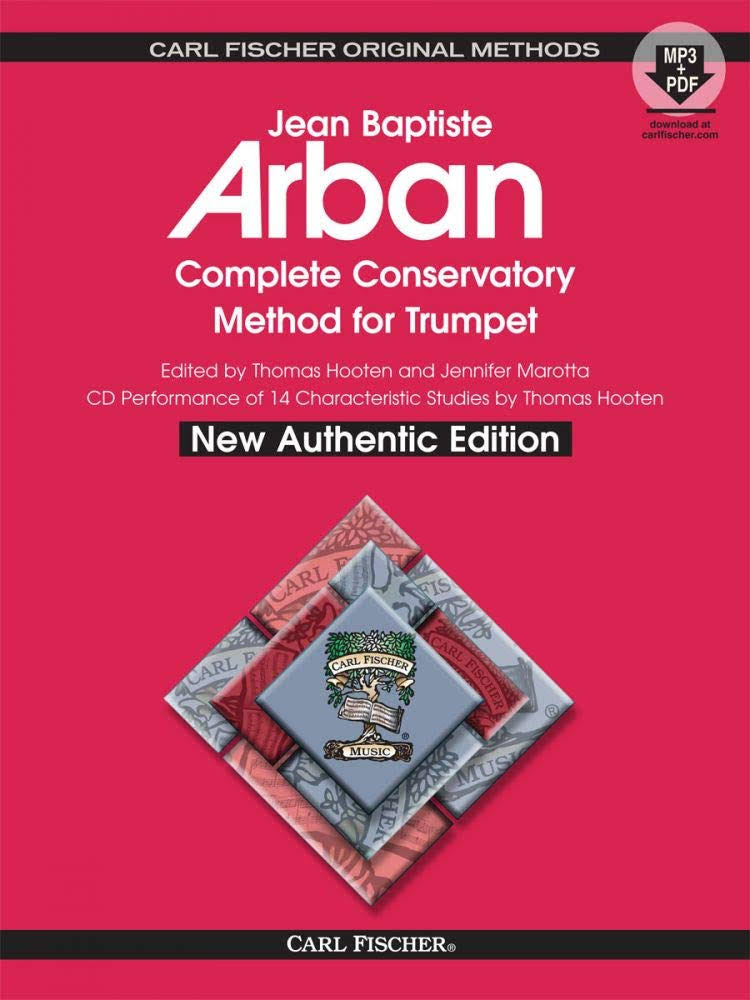 Complete Conservatory Method for Trumpet - Jean Baptiste Arban