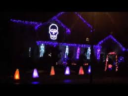 Naperville Halloween House A Youtube by 39 Best Lightorama Halloween Images On Pinterest Deco Castles