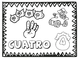 Numbers To 12 Coloring Pages Printable Spanish