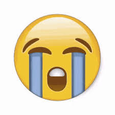 Sad Face Cry Emoji Waves Tears Liquid Gif For Fun