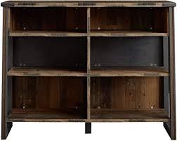 trendteam smart living wohnzimmer bar tresen theke stehtisch prime 140 x 105 x 48 cm front und korpus oldwood absetzung matera mit viel ablagefläche