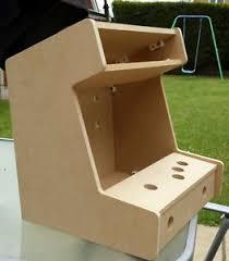 Mini Arcade Cabinet Kit Uk by Miniature Mini Bartop Arcade Machine 1 Player Diy Flat Pack Kit Ebay