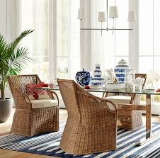 Indoor Rattan Chairs For Coastal Beach Style Living
