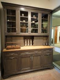 Fancy Modern Dining Room Hutch With Furniture Server