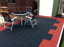recycled outdoor tiles used plastic outdoor flooring driveways