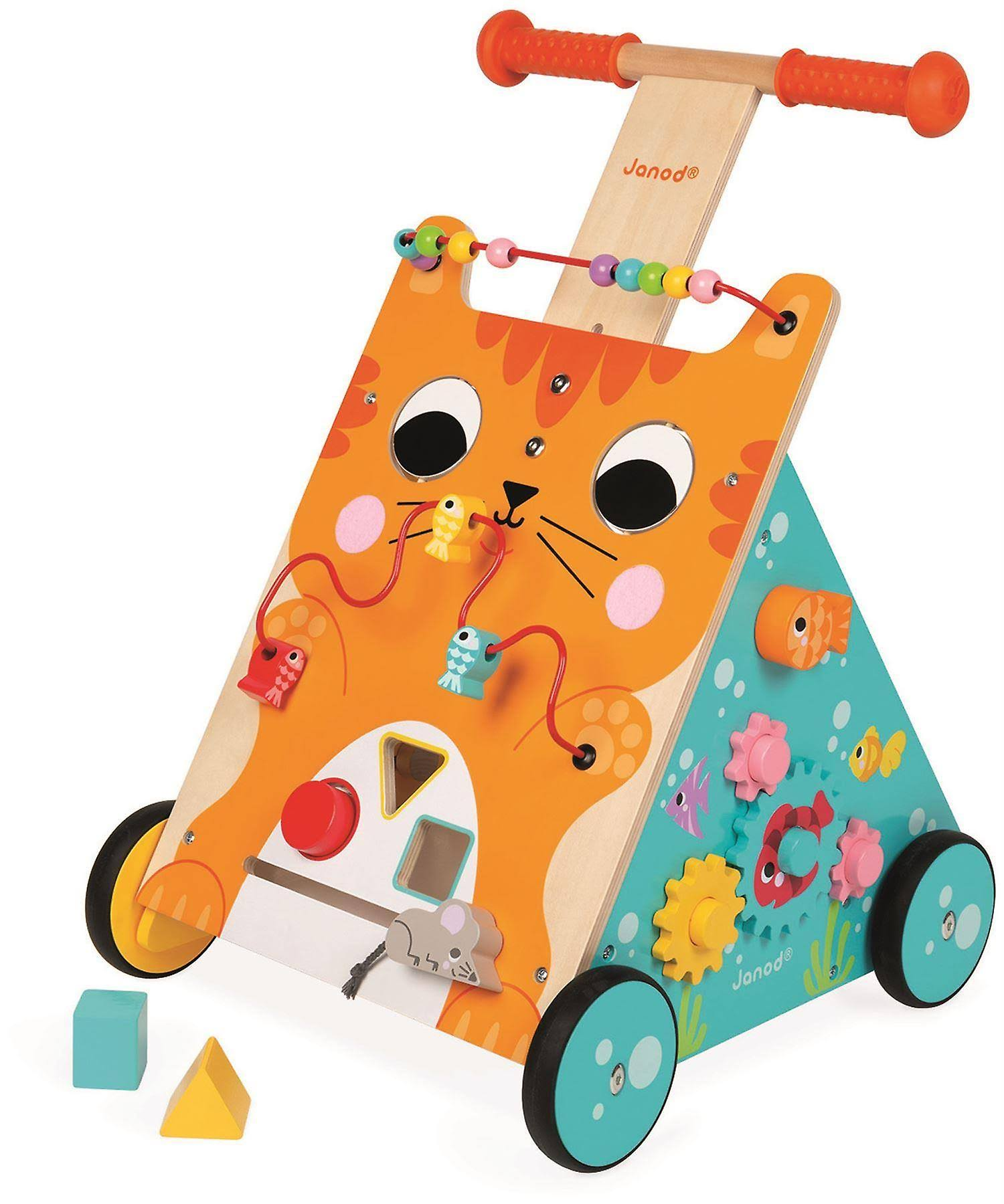Janod Multi-Activities Cat Baby Walker