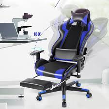 INSMA Racing Style Computer Gaming Chair - Reclining Ergonomic Swivel  Leather Office Chair 180° Lying With Footrest Camande Computer Gaming Chair High Back Racing Style Ergonomic Design Executive Compact Office Home Lower Support Household Seat Covers Chairs Boss Competion Modern Concise Backrest Study Game Ihambing Ang Pinakabagong Quality Hot Item Factory Swivel Lift Pu Leather Yesker Amazon Coupon Promo Code Details About Raynor Energy Pro Series Geprogrn Pc Green The 24 Best Improb New Arrival Black Adjustable 360 Degree Recling Chair Gaming With Padded Footrest A Full Review Ultimate Saan Bibili Height Whosale For Gamer