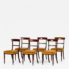 A Set Of Six Upholstered Empire Dining Chairs In Rosewood With ... Baroque Ding Chair Black Epic Empire Set Of 6 Swedish Bois Claire Chairs 8824 La109519 Style Maine Antique Fniture Ruby Woodbridge Arm Stephanie Side Shown In Oak With An Asbury Brown Finish Amish 19th Century Walnut Burl Federal Cane Seat Six Gondola Barstool 210902427 Barchairs And Leather The Khazana Home Austin Crown Mark 2155s Upholstered Casa Padrino Luxury Armrests