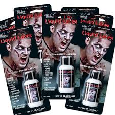 Fda Approved Halloween Contacts Uk by Liquid Latex Zombie Skin Halloween Horror Make Up Fancy Dress