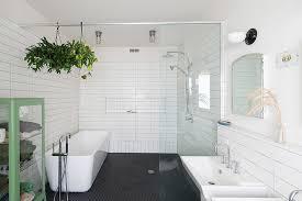 amazing bathroom tiles white beveled subway tile bathroom plus