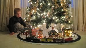 Train Around The Christmas Tree