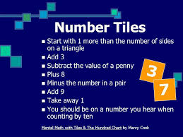 number energizers ppt