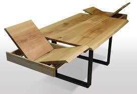 baumkanten tisch ausziehbar eiche breite 80cm länge