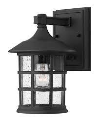 hinkley lighting 1800 freeport 6 inch wide 1 light outdoor wall
