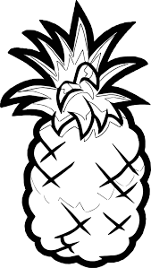 Smoothie Smash Pineapple Coloring Page