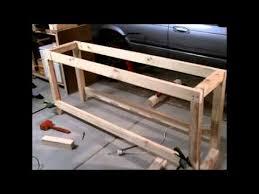 s u0026scustoms how to build a garage workshop workbench for under