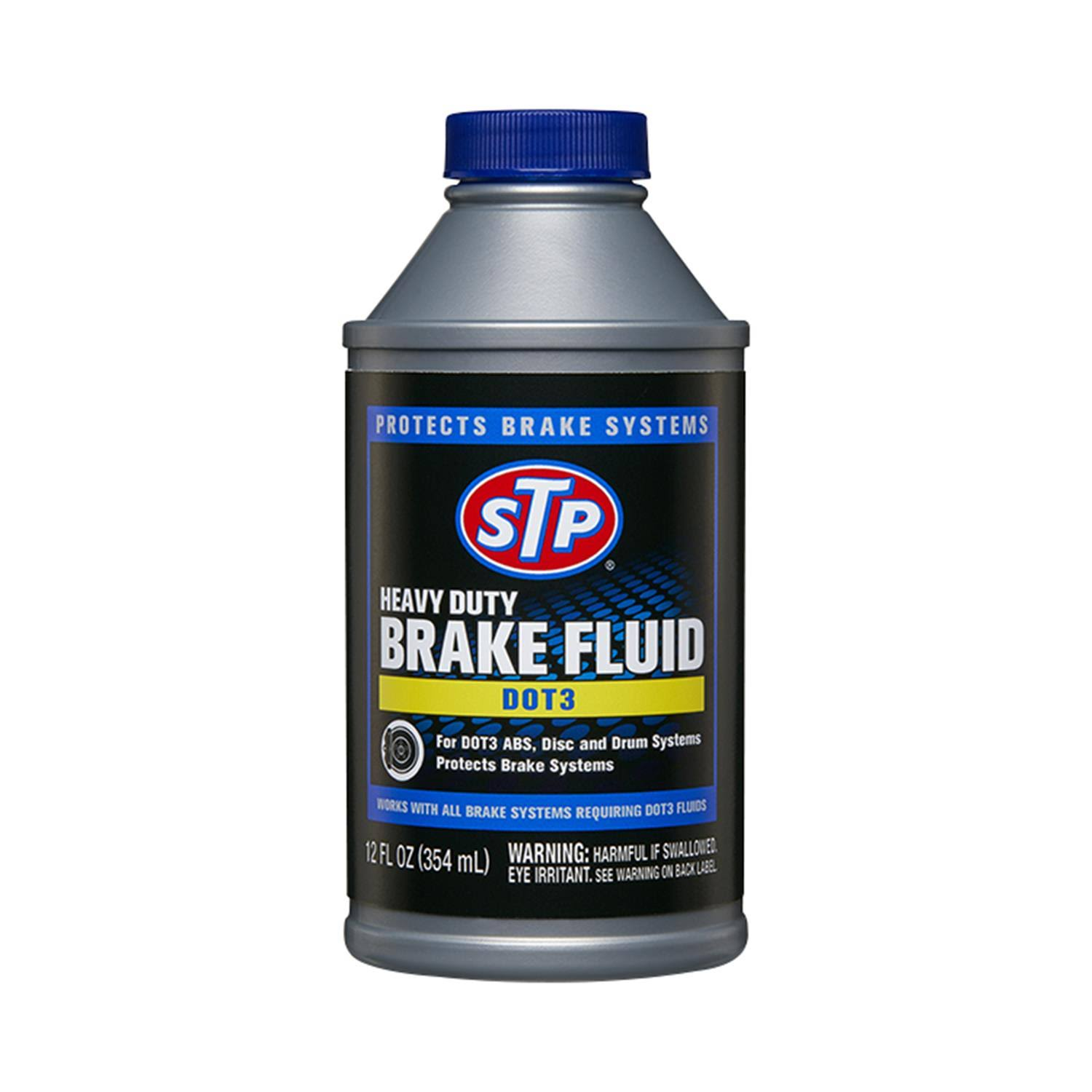 STP Brake Fluid, Heavy Duty, DOT3 - 12 fl oz