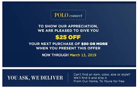 Polo Ralph Lauren Coupon-Get $25 Off When You Spend $50 Or ... Rapha Discount Code June 2019 Loris Golf Shoppe Coupon Lord And Taylor 25 Ralph Lauren Online Walmart Canvas Wall Art Coupons Crocs Printable Linux Format Polo Lauren Factory Off At Promo Ralph Cheap Ballet Tickets Nyc Ikea 125 Picaboo Coupons Free Shipping Barnes Noble Free Calvin Klein Shopping Deals Pinned May 7th 2540 Poloralphlaurenfactory Kohls Coupon Extra 5 Off Online Only Minimum Charlotte Russe Codes November