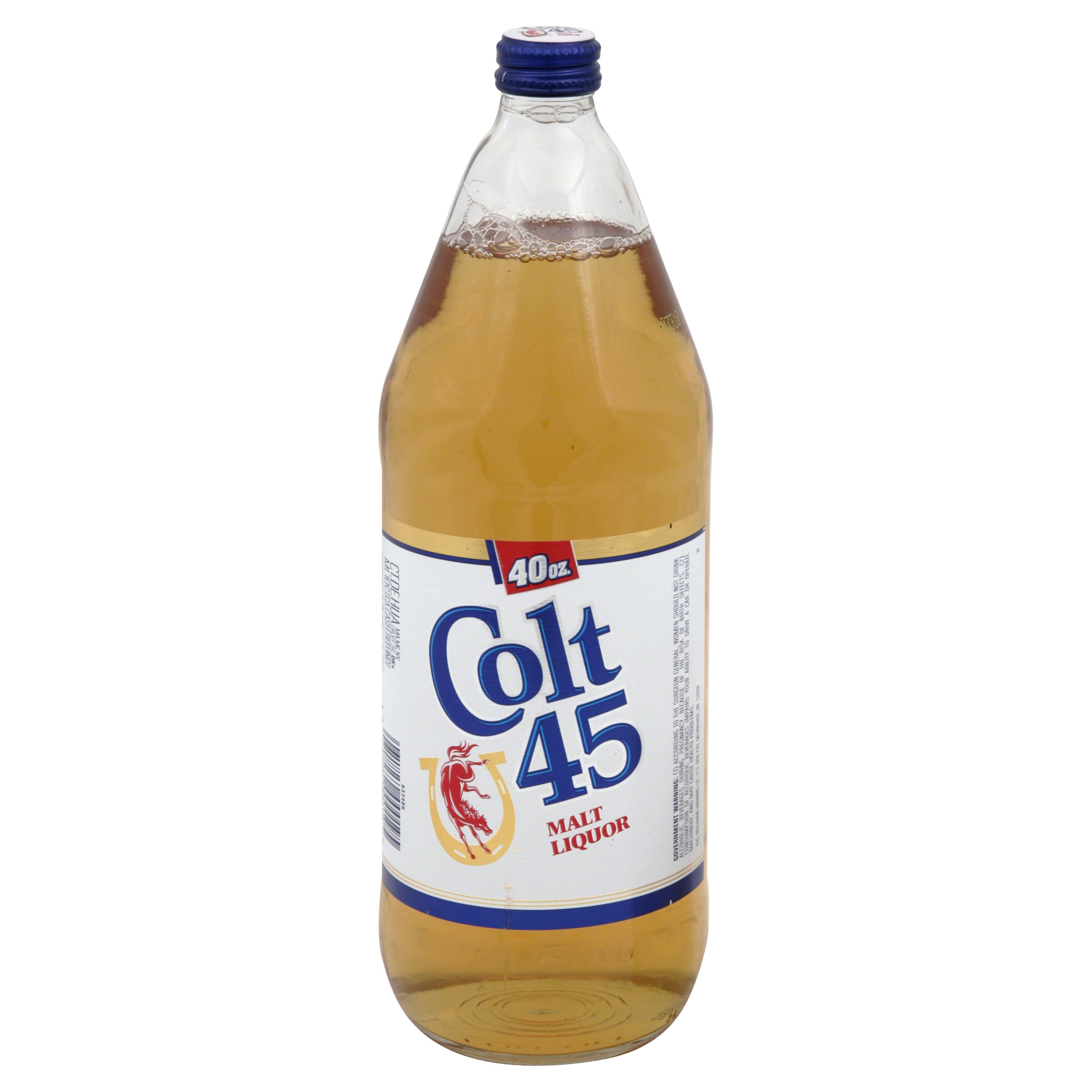 Colt 45 Malt Liquor - 40 fl oz