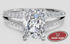 Rectangle Diamond Engagement Rings Engagement rings