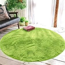 xinyukeji teppich seidige glatte teppiche flauschige teppiche anti rutsch shaggy bereich teppich esszimmer home schlafzimmer teppich runde bodenmatte