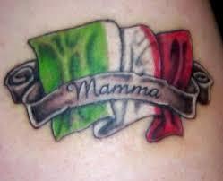 Italian Flag Tattoos