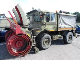100 Truck Snowblower Mercedes Unimog 406 Med Sneslynge Army Truck With Snow Blower For