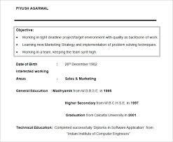 Graduate Student Resume Objective Template