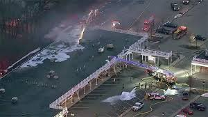 100 Propane Truck Explosion Strip Mall On Fire In Mendham NJ