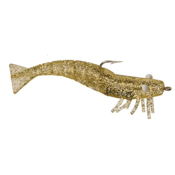 D.o.a. LURES Shrimp - Clear Gold Glitter