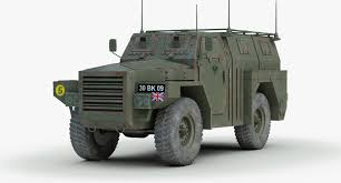 100 Armored Truck British Humber Pig Armored Truck 3d Model