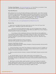 100 Resume Summary Examples Entry Level Sample For Call Center With No Experience