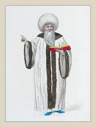 The Mufti of Istanbul or Chief of the Religion Ottoman Empire