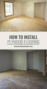 One Room Challenge Week Two How To Install Plywood Flooring