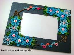 D Another Quilled Flower Frame Of The Exact Same Layout Design As Ones Ive Done Before But This Time Flowe