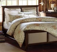 hudson upholstered bed pottery barn
