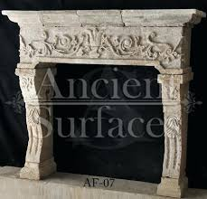 Antique Fireplace Mantels A Very Unique Ancient Reclaimed Italian