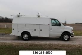 ford e 350 kuv knapheide utility bed service mechanic truck cargo