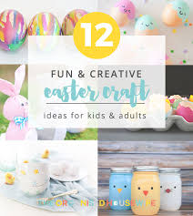 Easter Is A Fun Time Because There Are So Many Cute Crafts You Can Make And