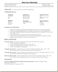 Entry Level Programming Resume Sample Sap Skill Radiology Format Download Pdf Home