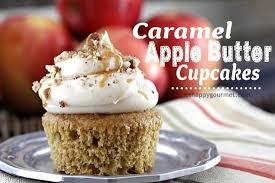 Caramel Apple Butter Cupcakes Recipe