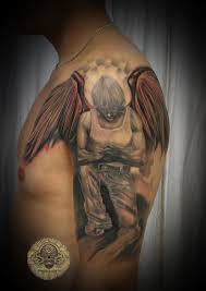 Fallen Angel Tattoo Final