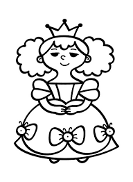 Little People Beautiful Princess Coloring Pages