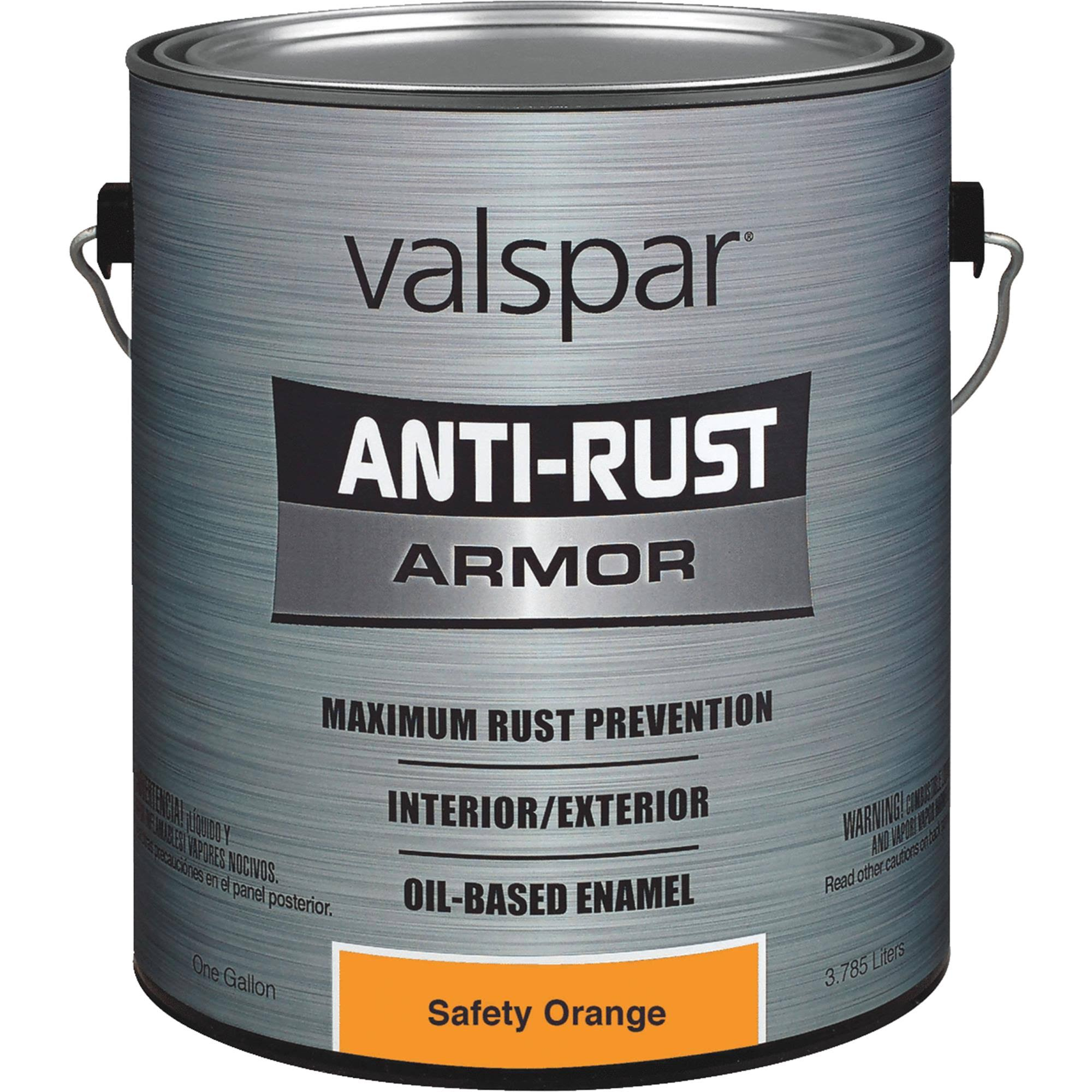 Valspar Anti-Rust Armor Oil-Based Enamel - Orange