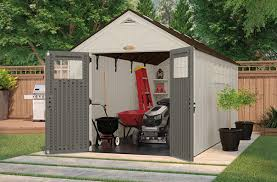 Suncast Horizontal Storage Shed Assembly by Sheds 101 Suncast Corporation