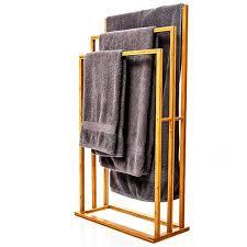 handtuchhalter aus bambus für dein badezimmer