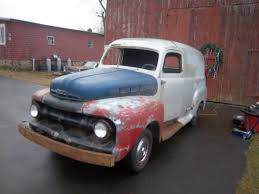 100 1952 Chevy Panel Truck FORD F1 PANEL TRUCK PROJECT DONOR CAR INCLUDED 5900 The HAMB